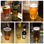 1-5: Sierra Nevada Pale Ale, Fosters, Carling, High and Mighty and Staropramen.