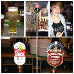 6-10: Peroni, Stella 4%, Kronenbourg, Mad Goose and London Pride.
